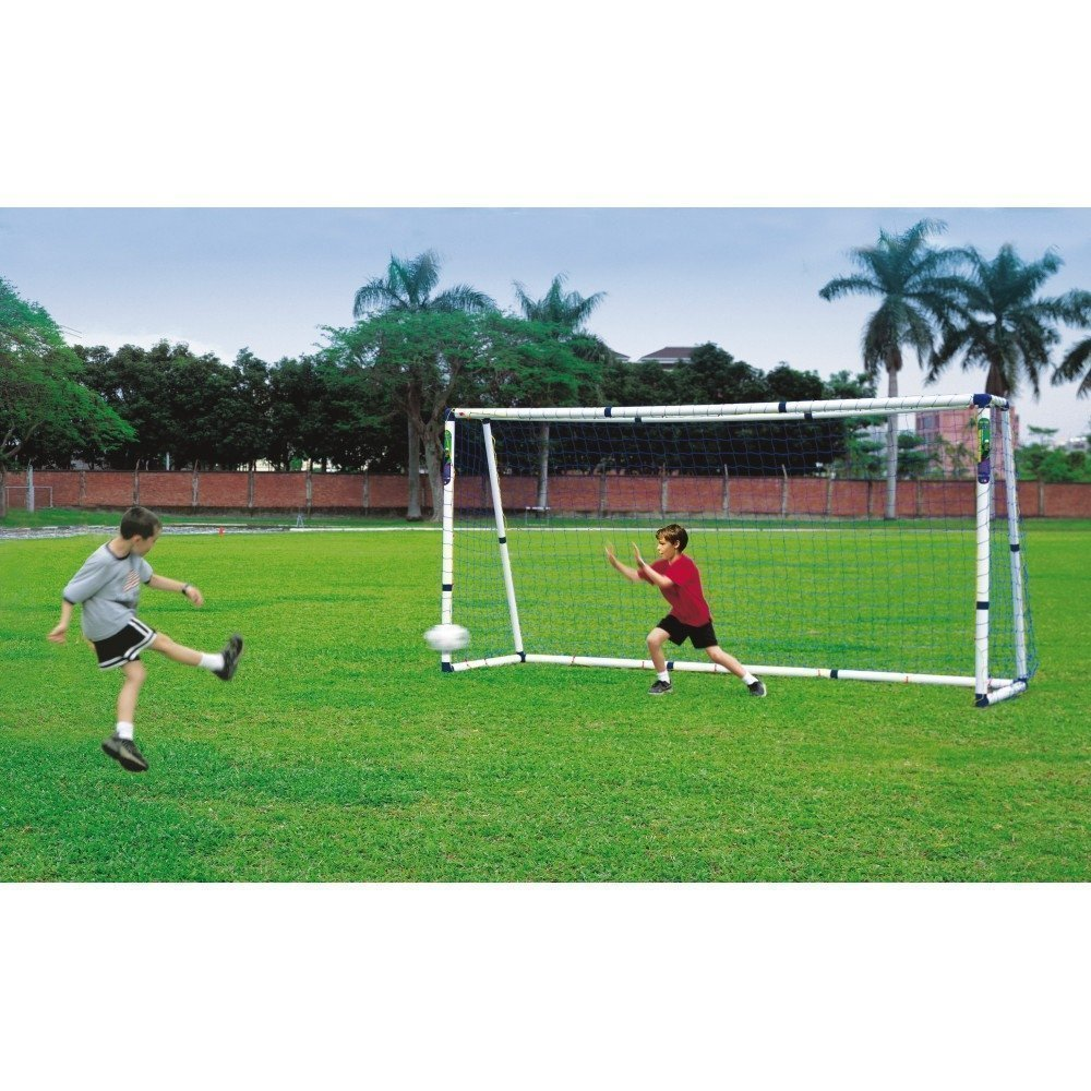 Central Dual Size Football Goals