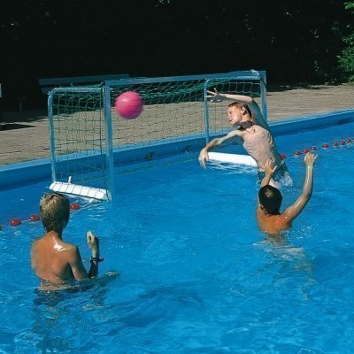 Floating Mini Goals Water Polo Water Sports Poolside