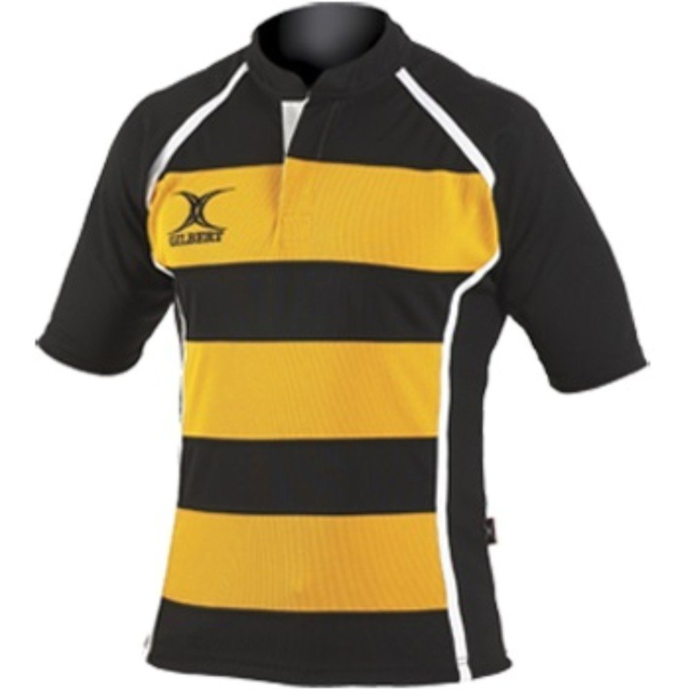 Gilbert Xact Hooped Rugby Shirt - Youth