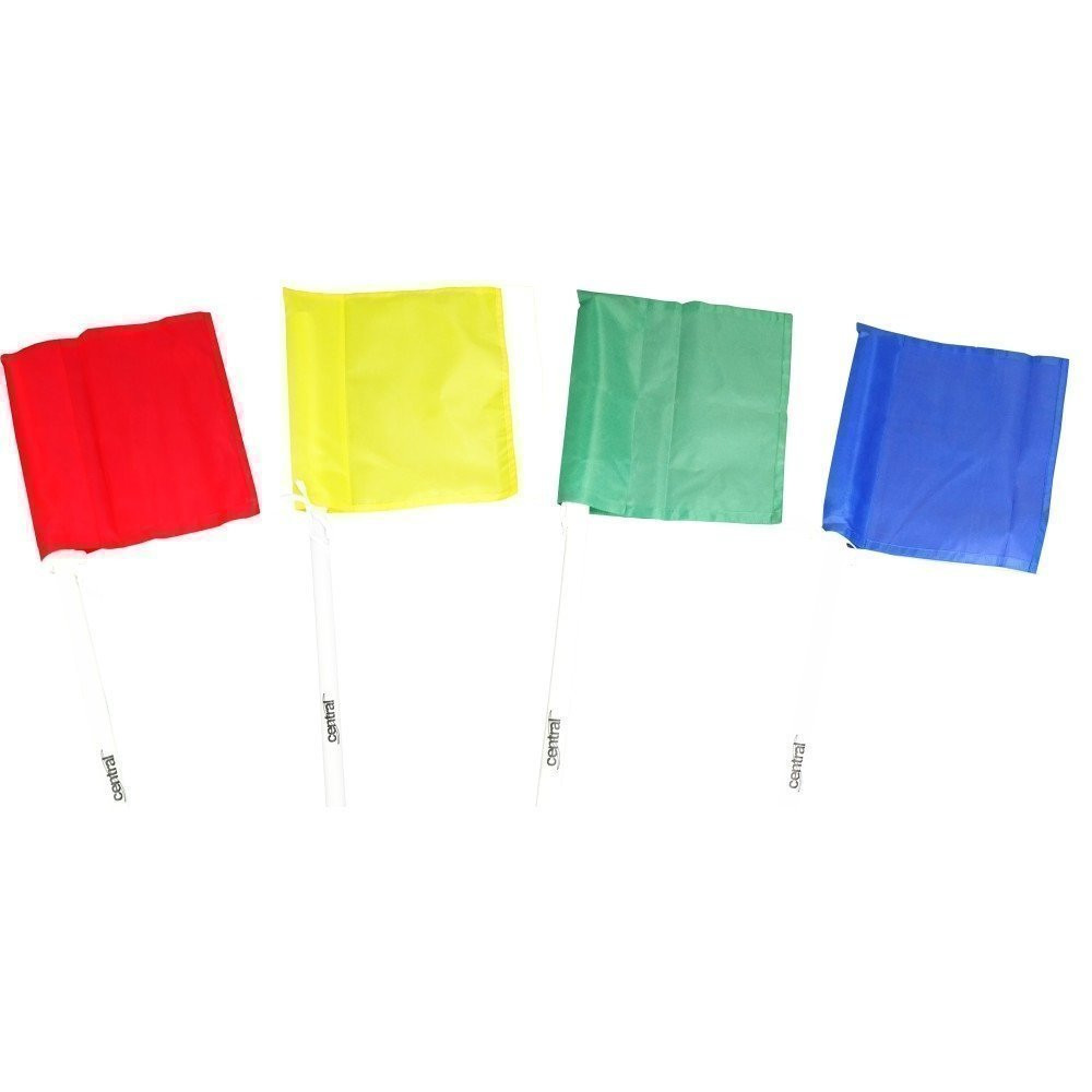 Central Corner Flags