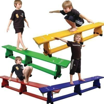 Sure Shot Coloured Balance Benches Set of 4