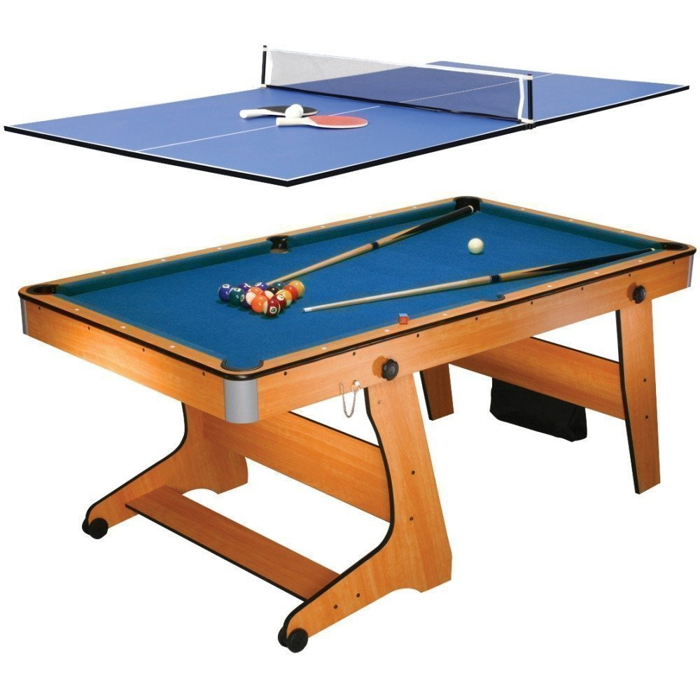 6ft Folding Pool/Table Tennis Table
