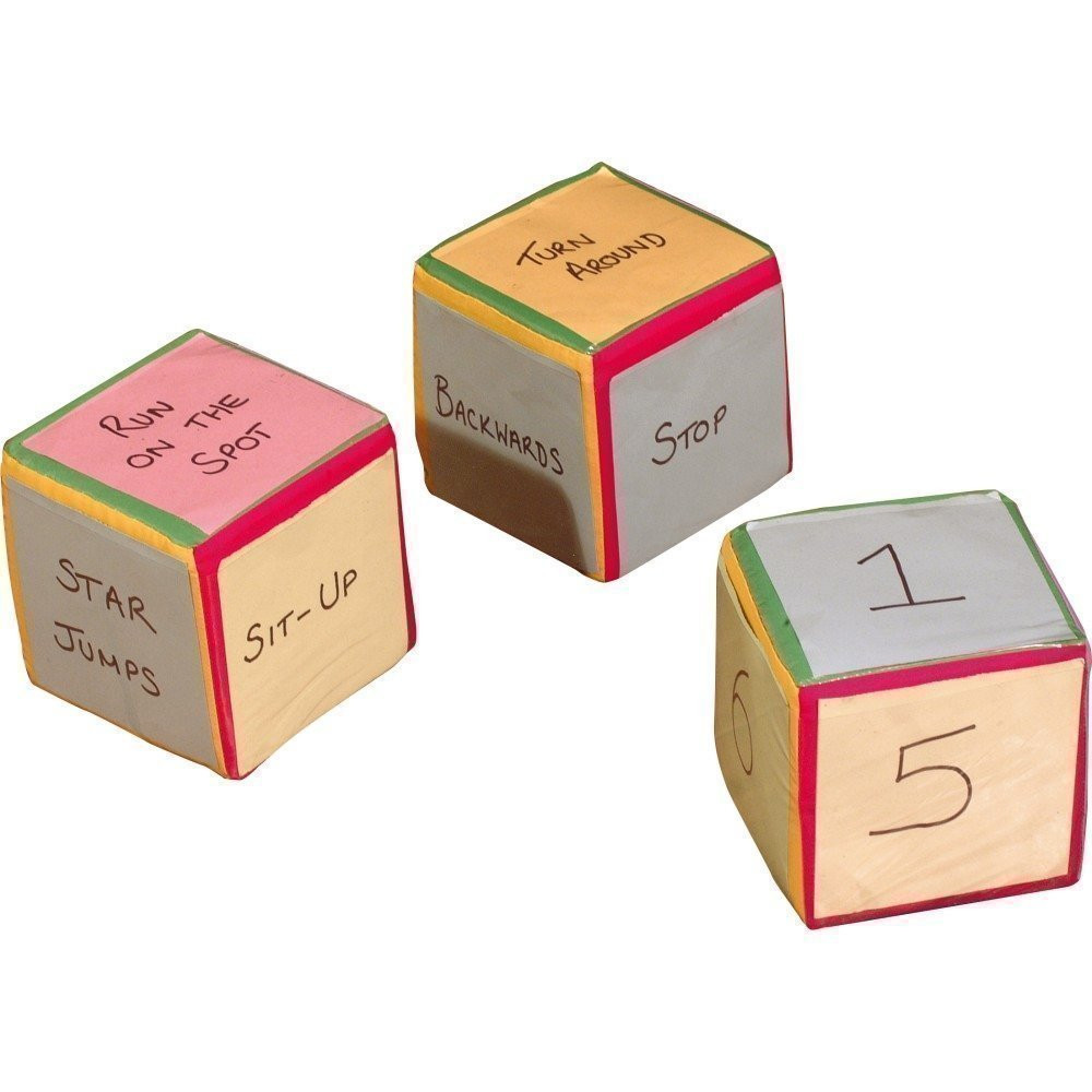Move Cubes, Set of 3