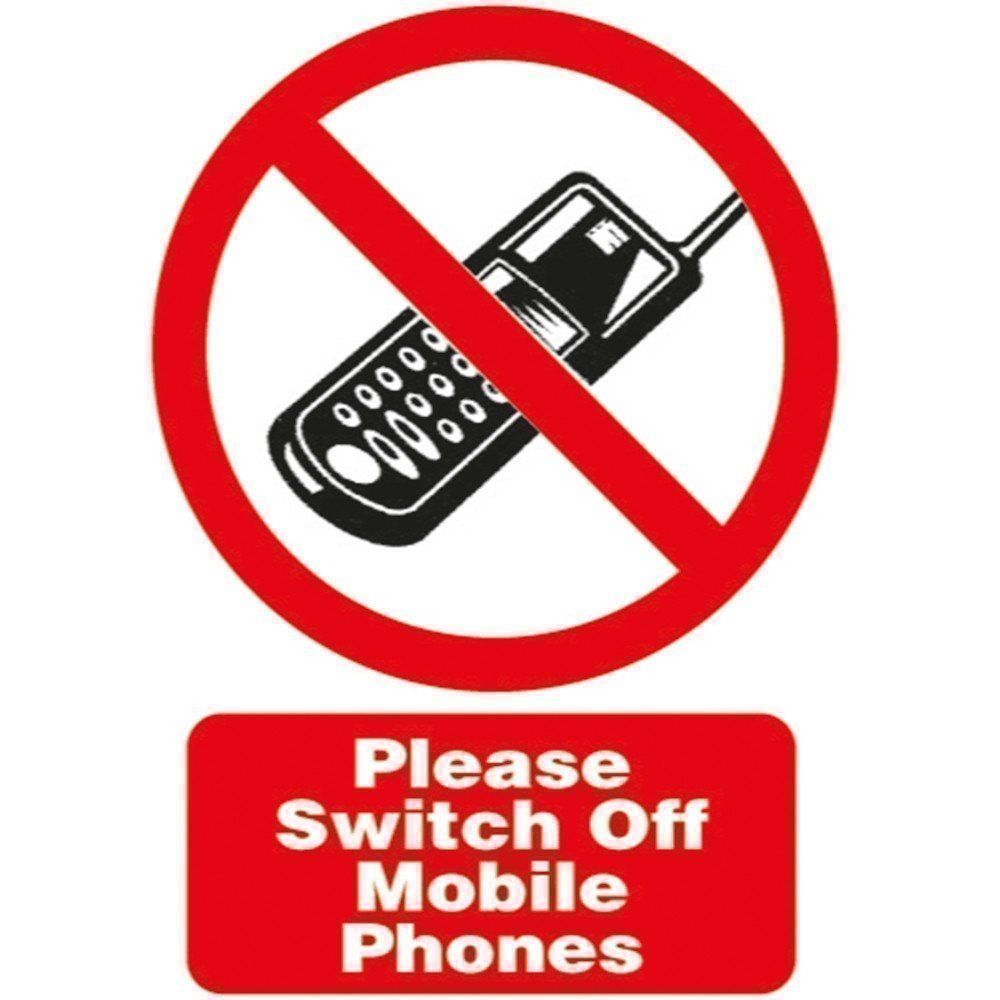 Please Switch Off Mobile Phones Sign