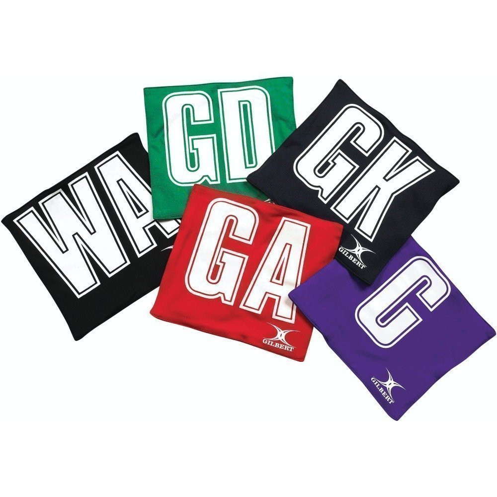 Gilbert Printed Netball Patches