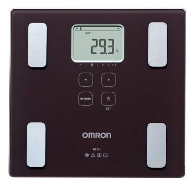 Omron BF214 Body Fat Monitor With Scale