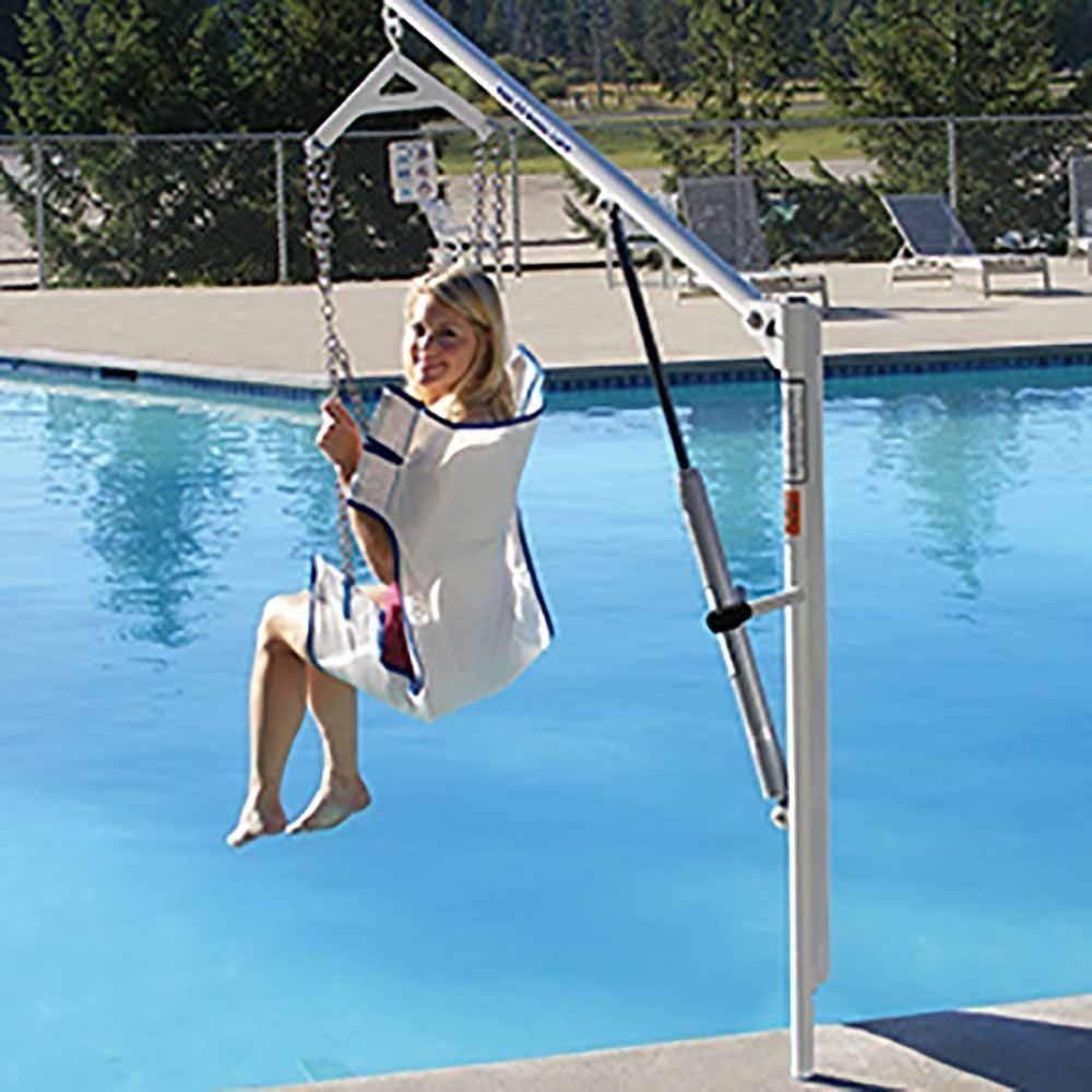 Manual EZ Lift Pool Disability Hoist