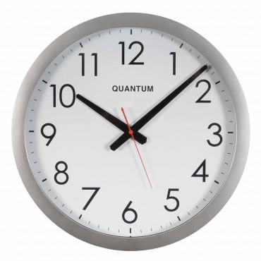 Chrome Cased Wall Clock