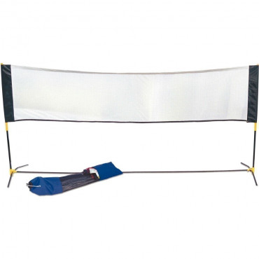 Mini Badminton Net and Post Set