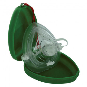 Pocket Face Mask With One Way Valve
