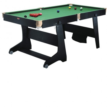 BCE Folding 6ft Snooker Table