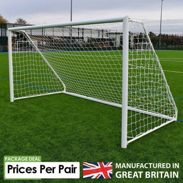 Academy Aluminium Folding Goals - Sold as Pairs