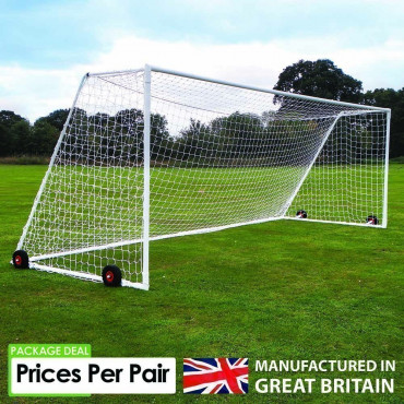 Sabre Champion Steel Portable Goals - Sold as Pairs