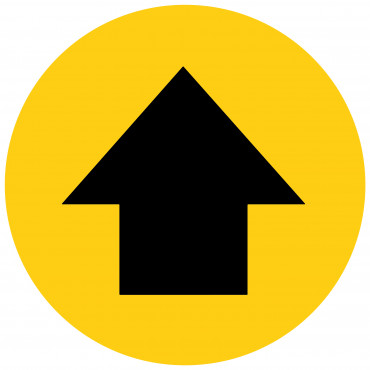 Direction Arrow Floor Marker