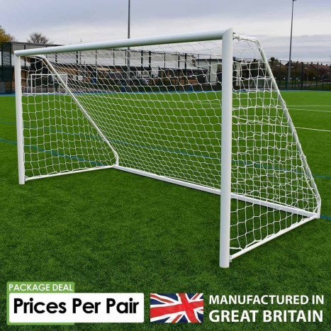 Sabre Academy Aluminium Folding Goals - Sold as Pairs