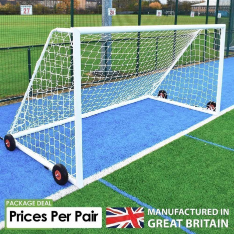 Sabre Academy Portable Aluminium Goals - Sold as Pairs