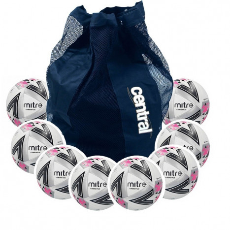 Mitre Ultimatch Plus Hyperseam 10 Ball Deal