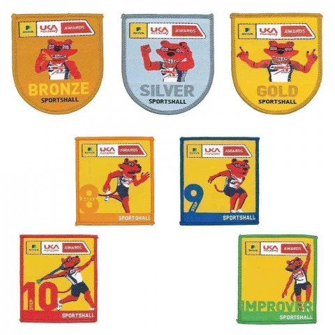Uka Academy Sportshall Primary Award Badges
