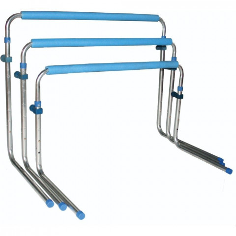 Central Self Return Aluminium Hurdles