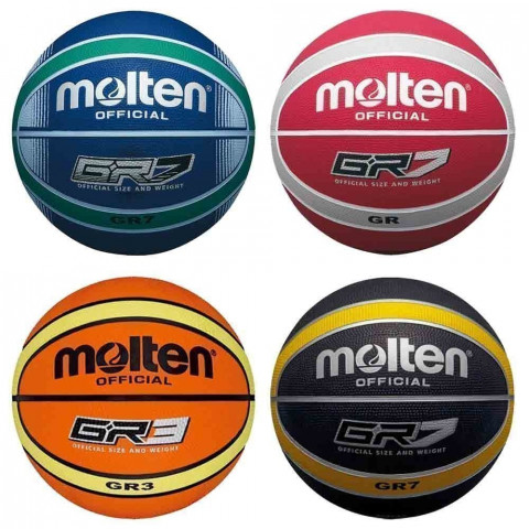 Molten Colour Coded Basketballs