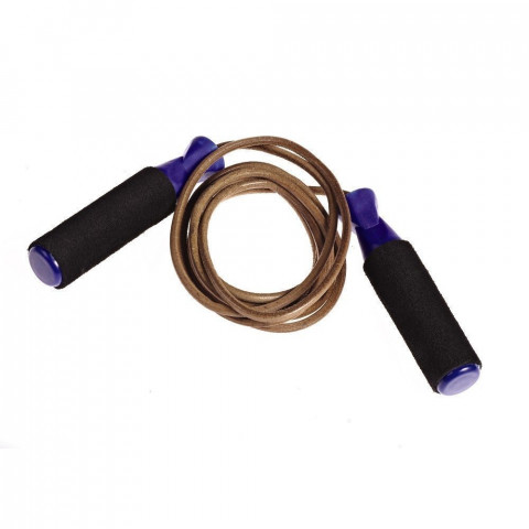 Leather Skipping Rope - Foam Handles