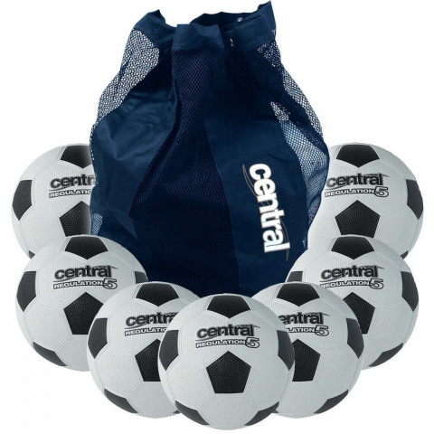 Central Super Dimple Regulation Football Bundle Deal
