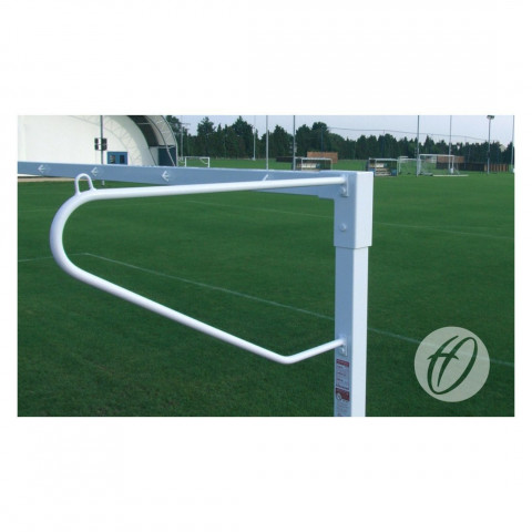 Harrod Solid Steel Continental Net Supports - For Junior & Senior Goals