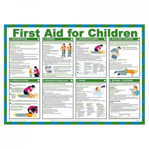 Children's First Aid Poster