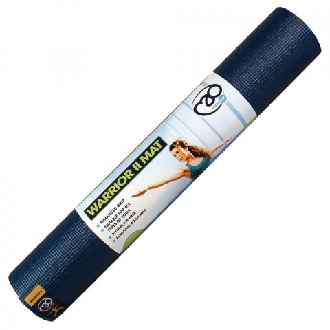 Yoga Mad Warrior II Mat Dark Blue Pack of 12
