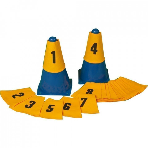 Numbered Cone Sleeves, Set of 20