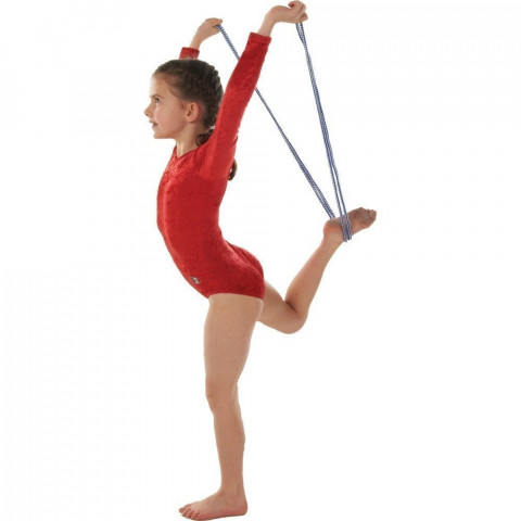 Dual Coloured Gymnastic Ropes, Set of 6