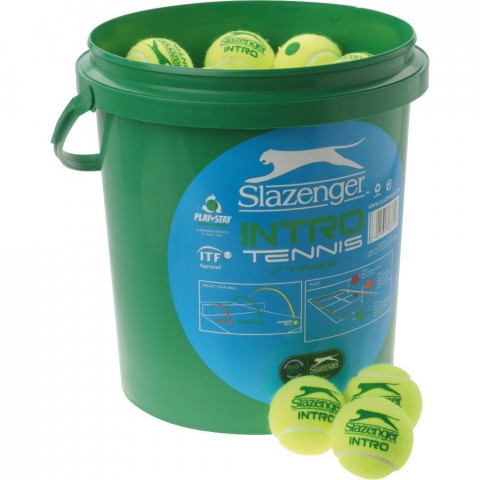 Slazenger Low Compression Intro Tennis Balls Green