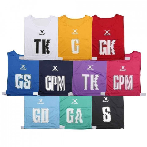 Gilbert High 5 Netball Bibs Set