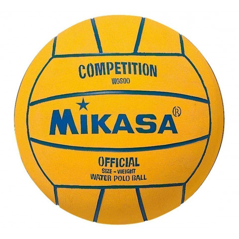 Mikasa W6600 Water Polo Ball - Light Orange/Blue - Single - Mens Size 5
