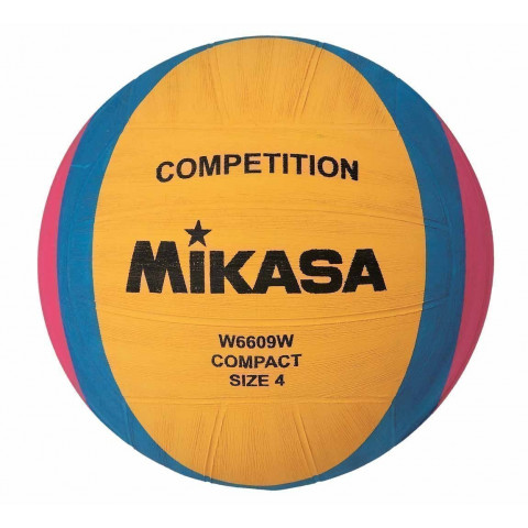 Mikasa W6609W Womens Water Polo Ball, Size 4