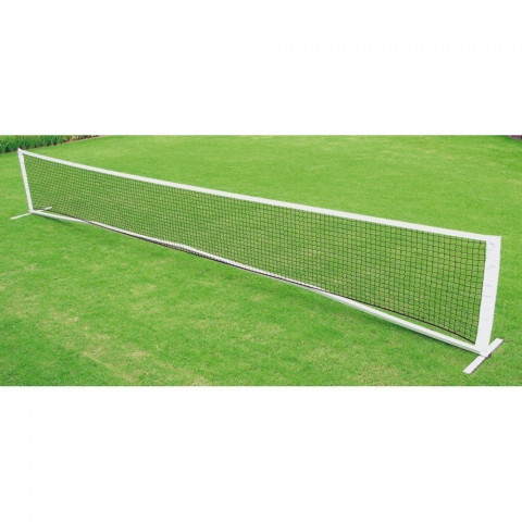 Mini Tennis Dual Width Net and Aluminium Post