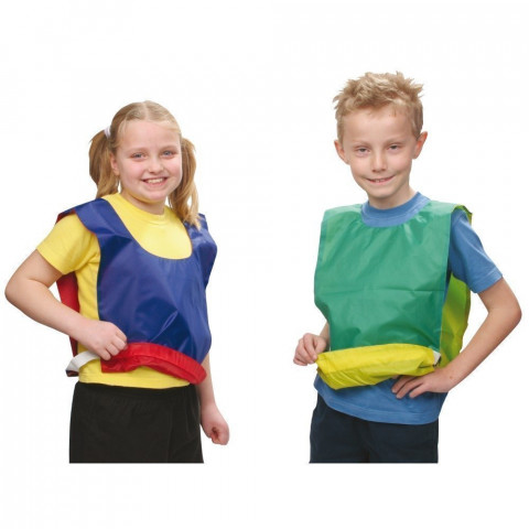 Central Nylon Reversible Bib