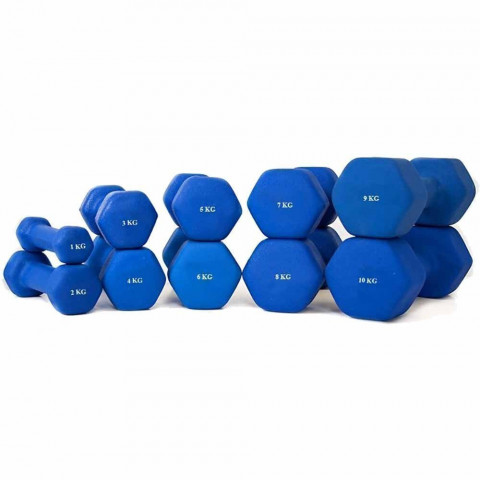 Neoprene Hexagon Dumbbells