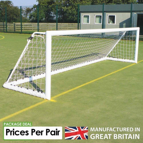 Sabre 5-A-Side Academy Freestanding Goals - Sold as Pairs
