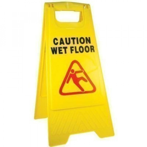 Caution Wet Floor A-Frame