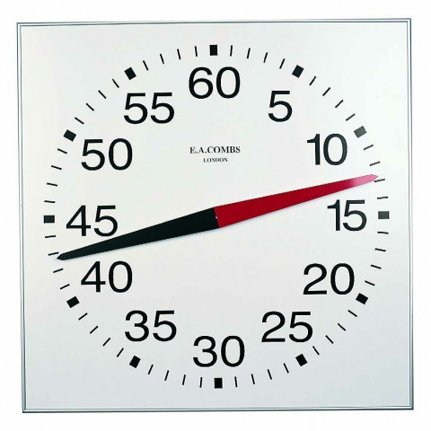 Wall Mounted Pace Clocks, 85 x 85cm (33 X 33in)