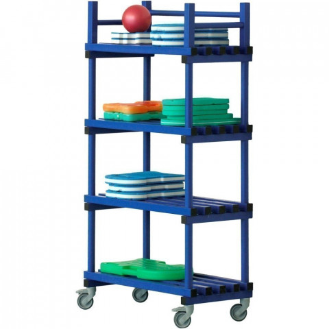 Vendiplas Mobile Shelving Unit