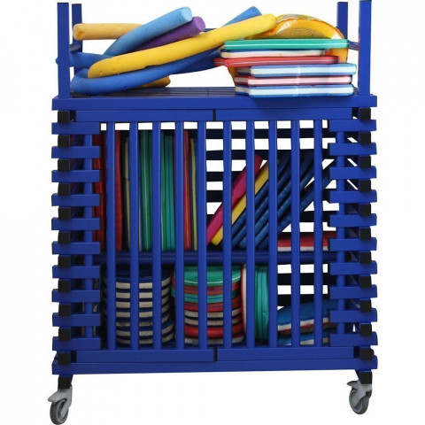 Vendiplas Open Fronted Equipment Trolley