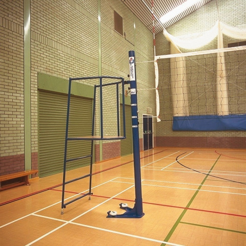 Floor Fixed International Volleyball Posts