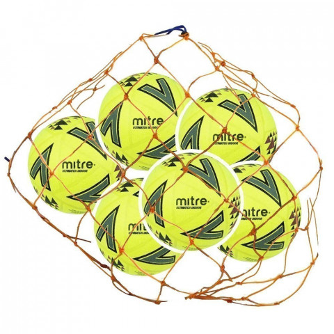 Mitre Ultimatch Indoor Football - 6 Ball Deal