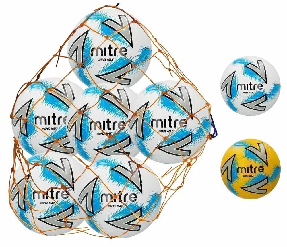 Mitre Impel Max Football 6 Ball Deal