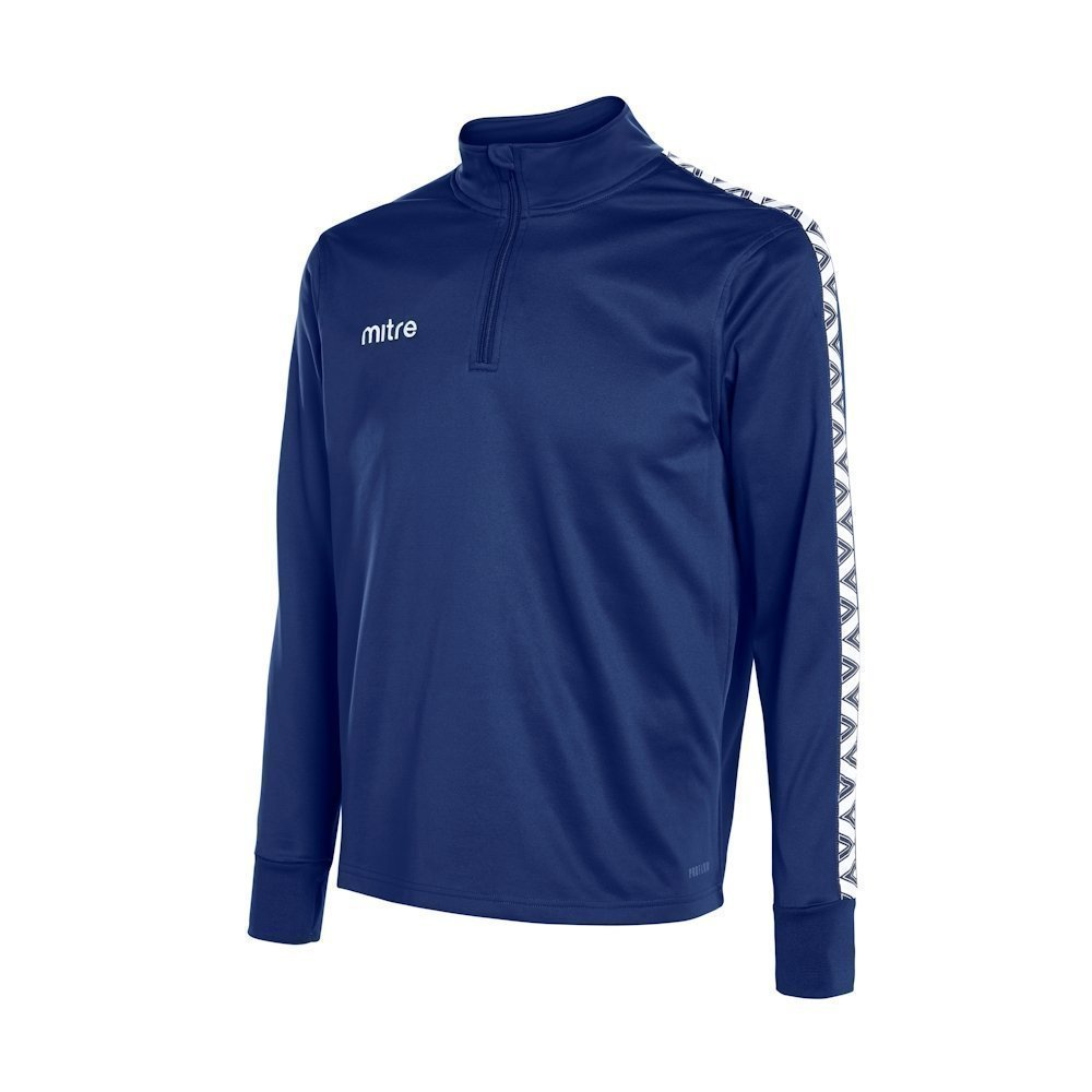 Mitre Delta Quarter Zip Top