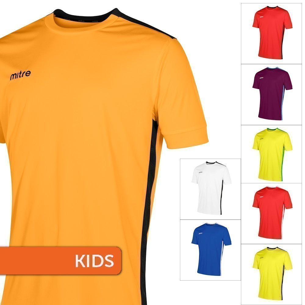 Youth's Mitre Charge Jersey - Short Sleeve